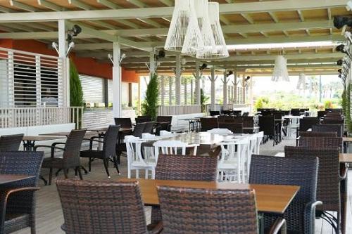 رستوران دریایی Sandal Restaurant در هتل 5 ستاره باروت لارا آنتالیا