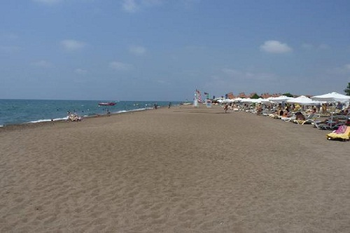 ساحل اختصاصی هتل باروت لارا آنتالیا Barut Lara