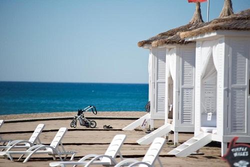 کابین های ساحل اختصاصی هتل باروت لارا