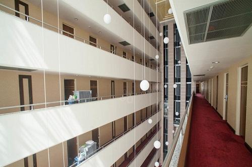 راه روی طبقات هتل پورتوبلو