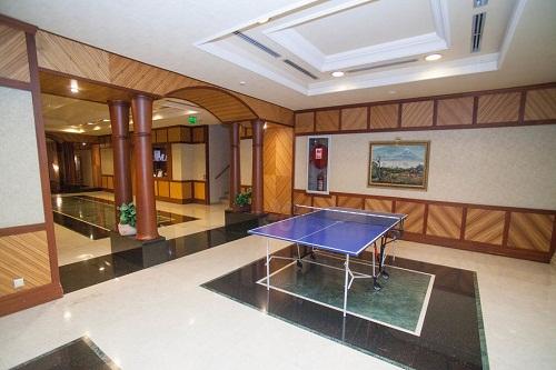میز پینگ پنگ در هتل 5 ستاره پورتوبلو آنتالیا