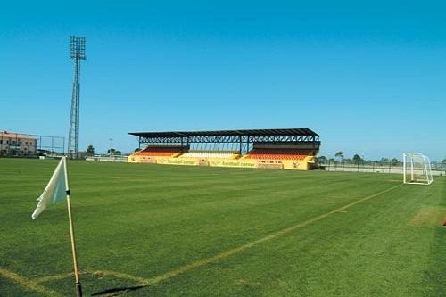 زمین فوتبال در هتل 5 ستاره وو توپکاپی آنتالیا