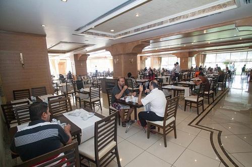 رستوران اصلی هتل پورتوبلو