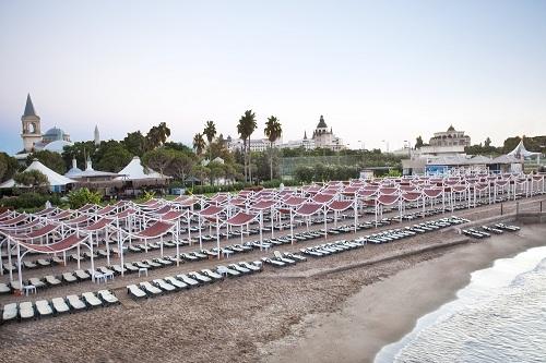 ساحل اختصاصی هتل توپکاپی آنتالیا