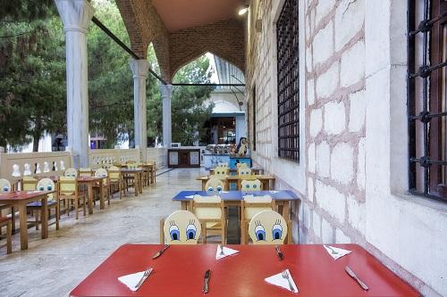 بخش کودکان رستوران اصلی هتل توپکاپی آنتالیا
