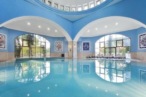 استخر سرپوشیده هتل 5 ستاره وو توپکاپی آنتالیا