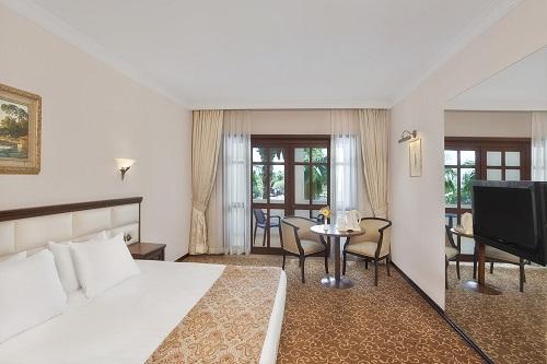 اتاق های استاندارد در هتل 5 ستاره وو توپکاپی آنتالیا