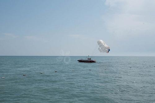 تفریحات ساحلی در هتل ونیزیا پالاس آنتالیا
