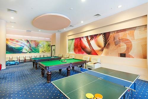 سالن بازی در هتل 5 ستاره گرند رینگ آنتالیا