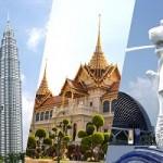 تور تایلند + مالزی  + سنگاپور نوروز 95 از مشهد
