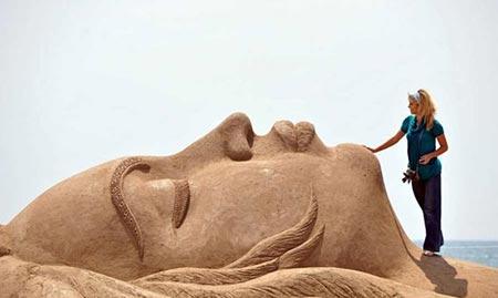سرزمین شن یا Sandland آنتالیا محلی است پر از مجسمه های شنی زیبا