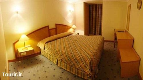 اتاق های هتل پارس شیراز