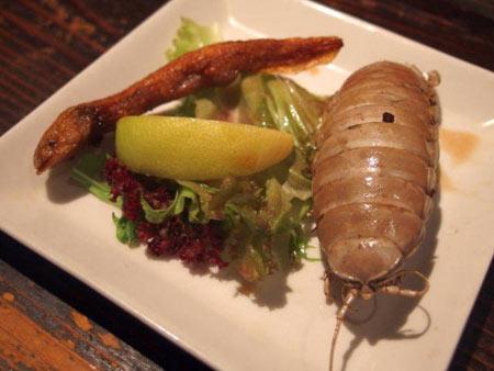 رستوارن ژاپنی با عجیب ترین غذاها