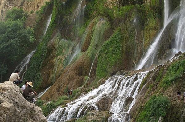 آبشار اخلمد شهر مشهد