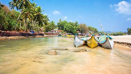 گوا یکی از مقاصد توریستی شناخته شده در هند است