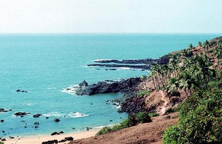 سواحل گوا پهناور بوده و آفتابی درخشان و زیبا دارد