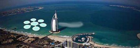 زمین تنیس دیدنی زیر آب دریا در دبی