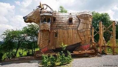 عجیبترین هتلهای اروپا