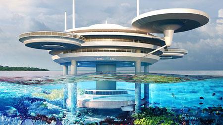 زیباترین هتل های شناور در جهانزیباترین هتل های شناور در جهان