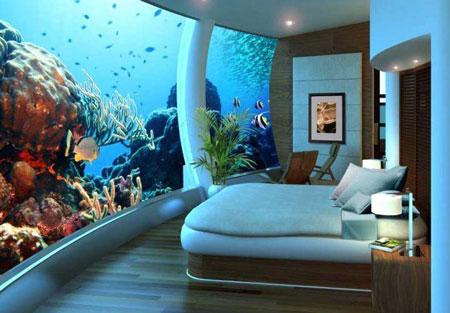 زیباترین هتل های شناور در جهان