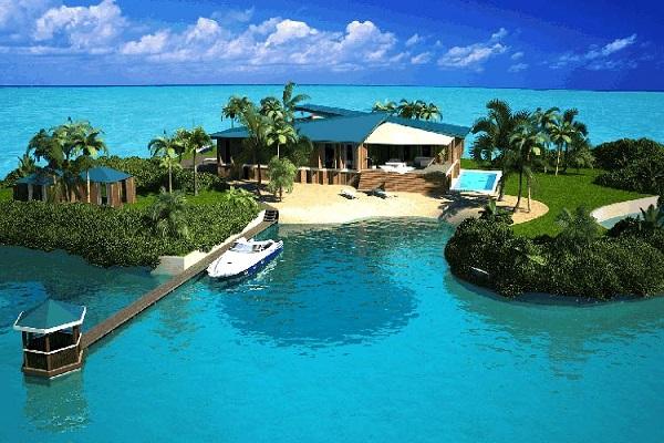 جزیره های شخصی لئوناردو دیکاپریو