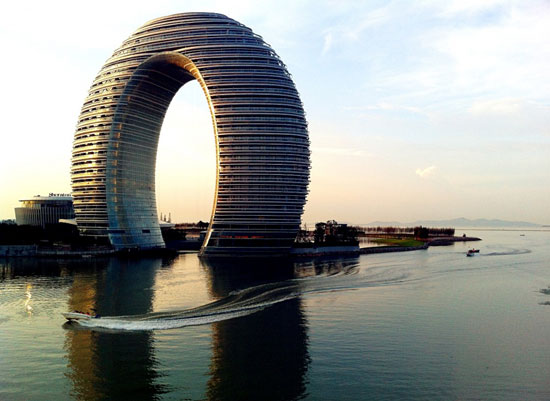 هتل شراتون، هوژو، چین