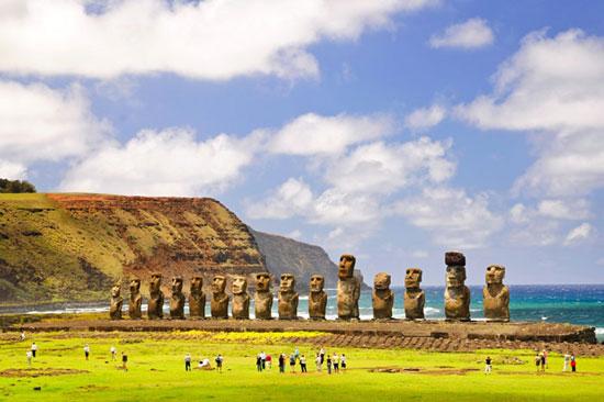 مجسمه های جزیره ایستر، شیلی