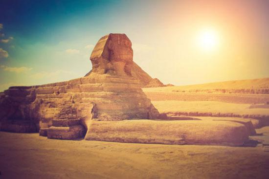 مجسمه ابوالهول در جیزه، مصر