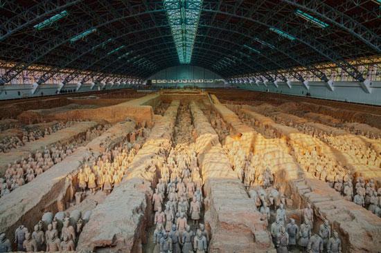 ارتش تراکوتا، چین