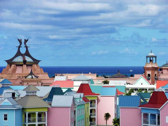 جزیره ی بهشت، باهاما