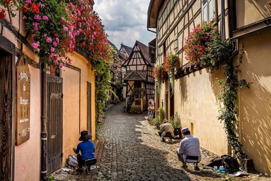 اگوییسهایم (Eguisheim)، فرانسه