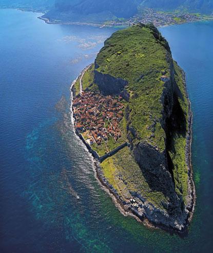مونمواسیا (Monemvasia)، یونان