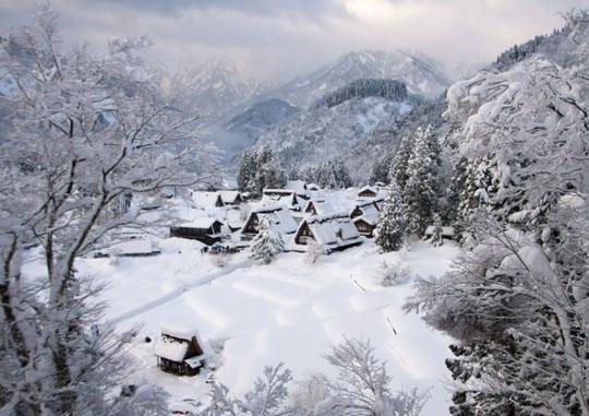 روستای رویایی گوکایاما (Gokayama)، ژاپن