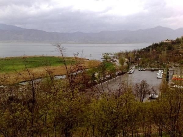 دریاچه ایی رویایی در کردستان