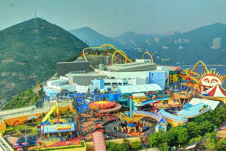 پارک اوشن بزرگترین پارک تفریحی آسیا