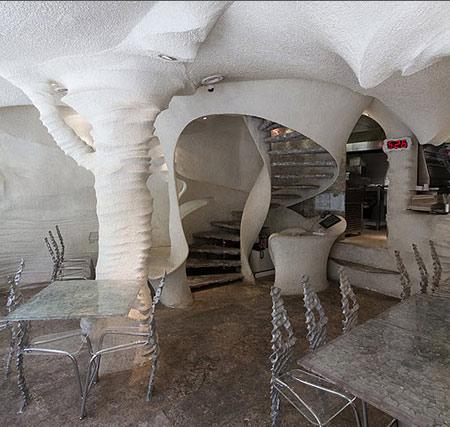 رستورانی دیدنی از جنس نمک در شیراز