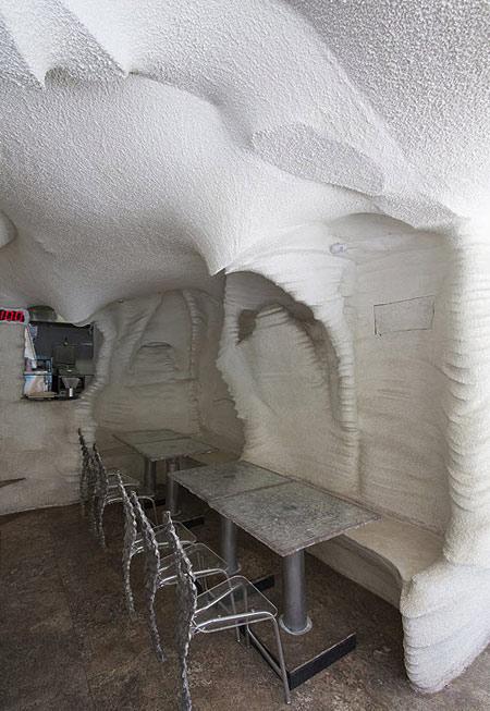 رستورانی از جنس نمک در شیراز