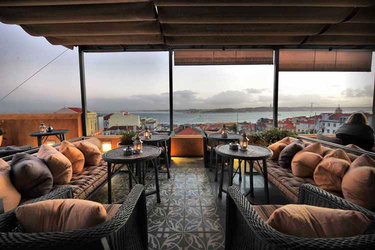 هتل بایرو آلتو (Bairro Alto Hotel)، لیسبون، پرتغال
