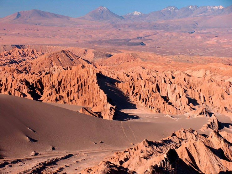 بیابان آتاکاما، شیلی