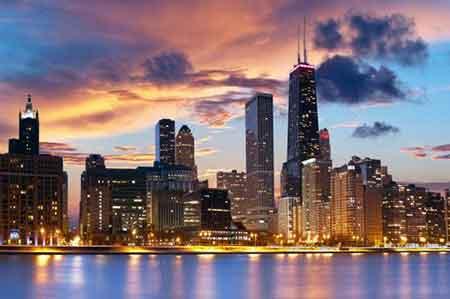 شیکاگو، ایالت ایلینوی آمریکا