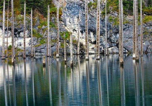 اینجا عجیبترین دریاچه جهان است