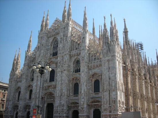 کلیسای جامع میلان در میلان، ایتالیا