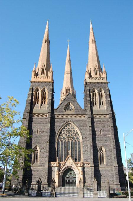 کلیسای جامع سنت پاتریک در ملبورن، استرالیا