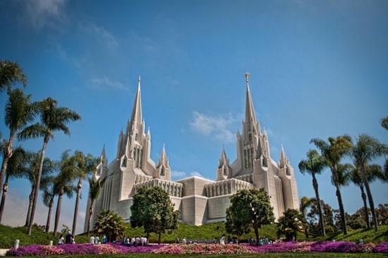 معبد مورمون ها، کالیفرنیا، ایالات متحده
