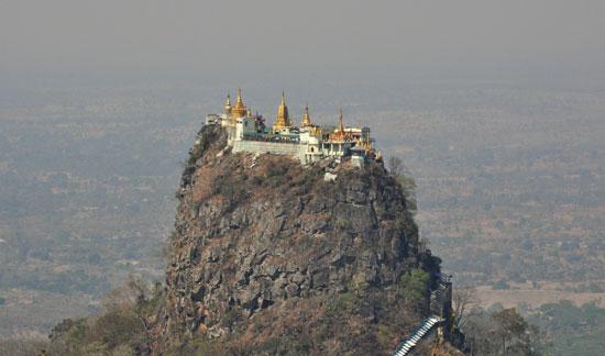 صومعه تانگ کالات، میانمار