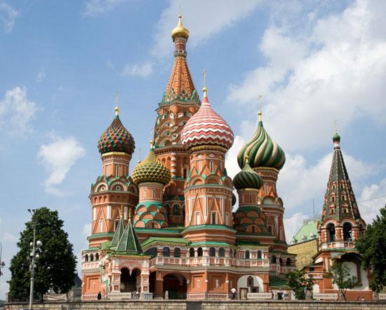 کلیسای جامع سنت باسیل در مسکو