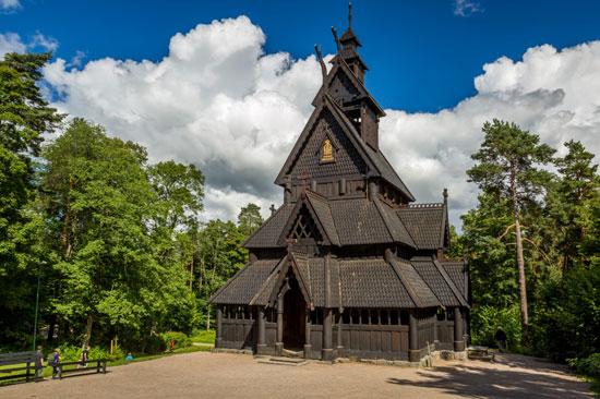 کلیسای بورگوند استیو، نروژ