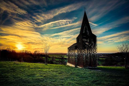 کلیسای شفاف در لیمبورگ، بلژیک
