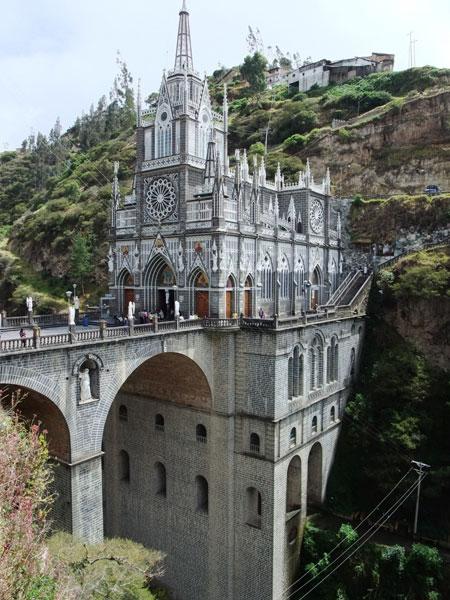 کلیسای لاس لجس، کلمبیا