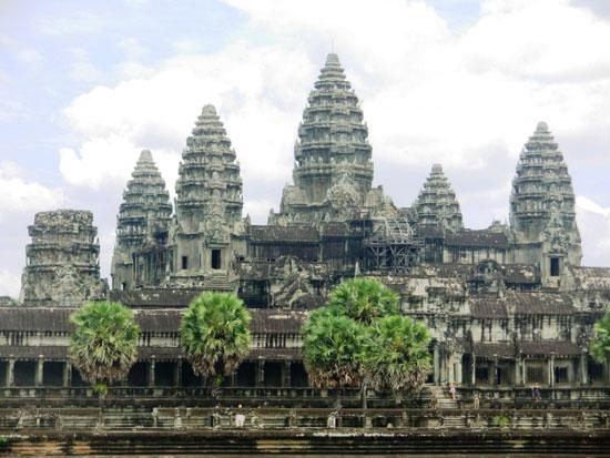معبد آنگکور وات در کامبوج